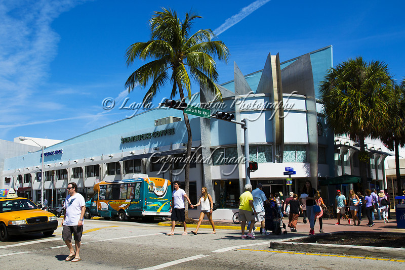 Day 68 Starbuck: Doing it Art Deco Style (Miami Beach)