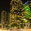 Day 37 Brickell Avenue at Night (Miami, FL)