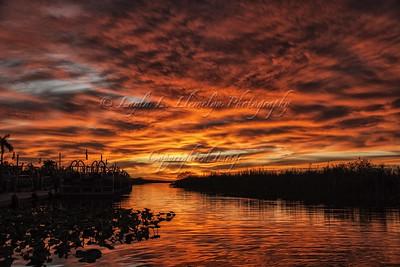 Day 360 Sunset Drama...Encore!