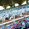 Day 111 Painted Girl at Miami Marine Stadium