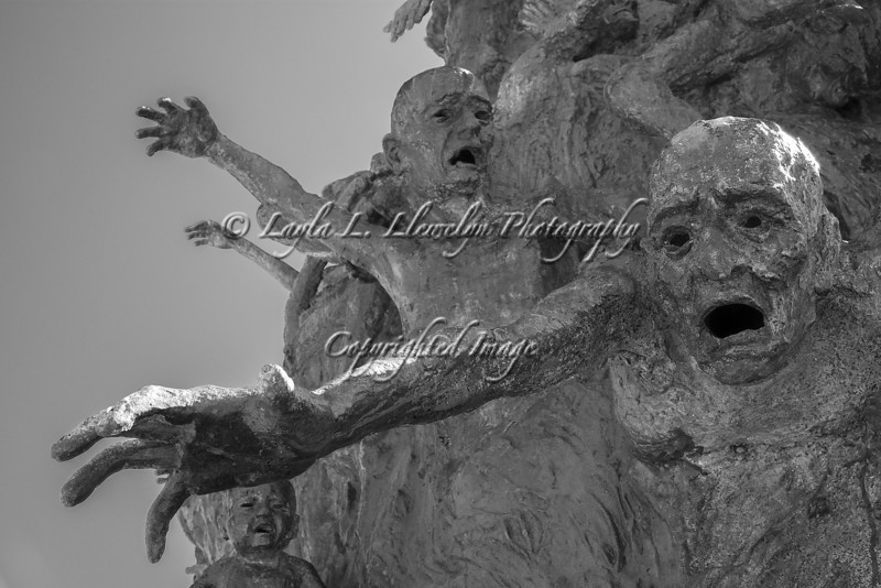 Day 56 (Photo 2 of 3) Reaching out (Miami Beach Holocaust Memorial)