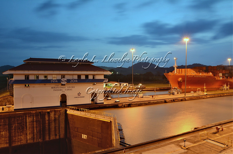 Day 191 (Photo 2) The Panama Canal: Miraflores Locks