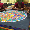 Day 85 (Photo 1 of 2) I was blessed to be able to see this incredible work of art being created by Tibetan Monks: Sand Mandala