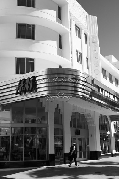 Day 41 Historic Art Deco Lincoln Theatre Building on Lincoln Road as new retail center, Miami Beach, Florida