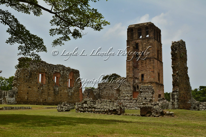 Day 192  The Ruins of Panama Viejo  (Old  Panama): The Cathedral's Tower