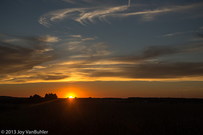 268/365 - Sunset