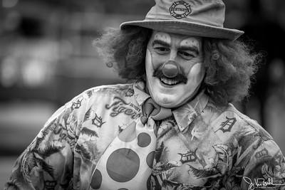329/365 - Clown at the Thanksgiving Day Parade