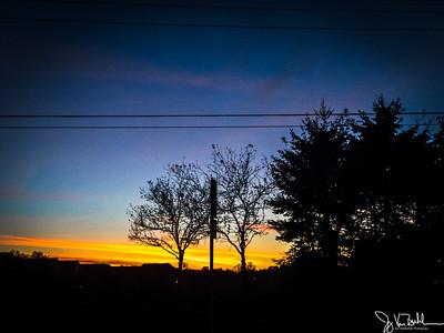292/365 - Sunset