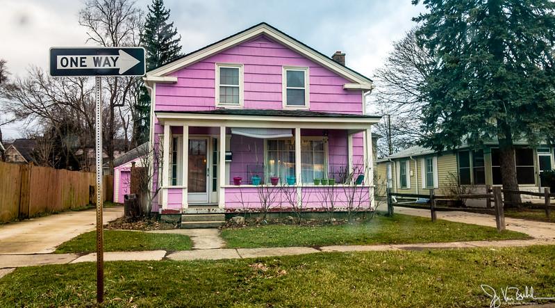 60/365 - Purple House