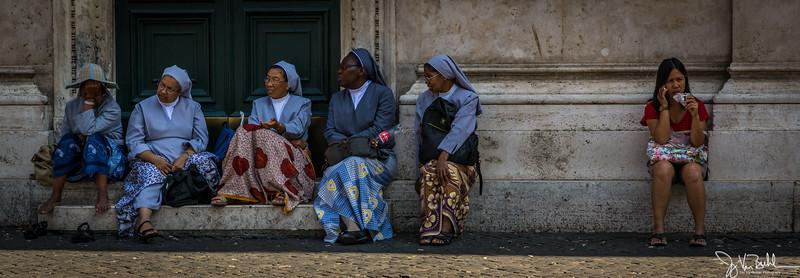 36/52-5: Nuns in Rome