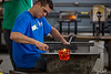 8/52-3: Glass Blowing Demonstration at the Glass Academy