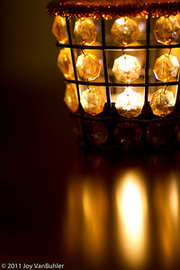 1/25/11 - Candlelight and reflections
