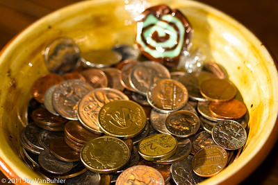 1/6/11: Payday - used an off-camera flash with a diffuser