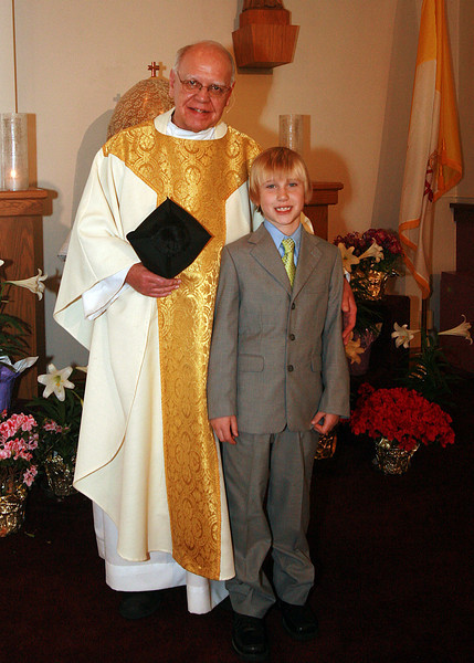 Xavy and Fr. Mike