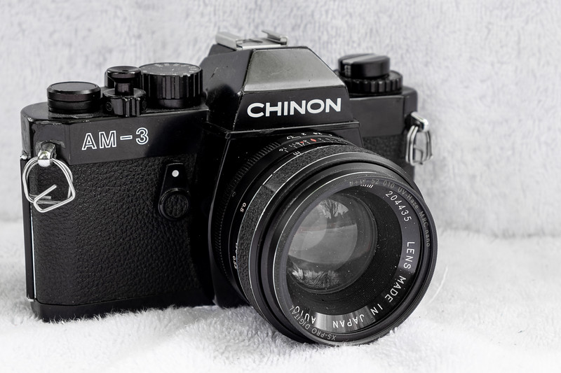 CHINON AM-3 35mm Film SLR