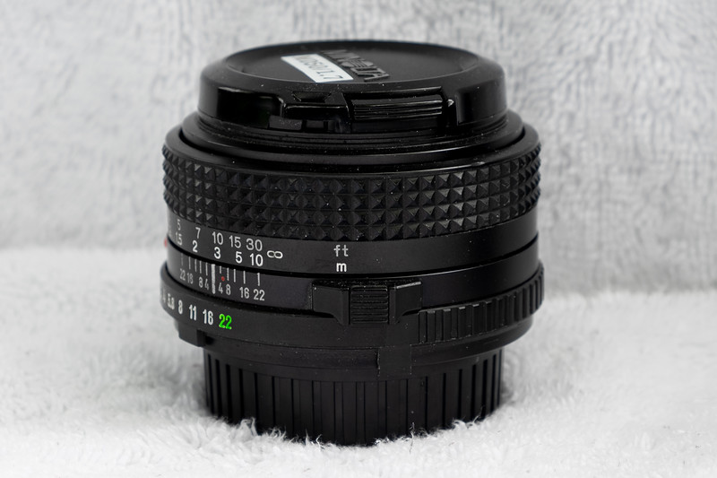 Minolta 50mmF1.7 (MD mount)