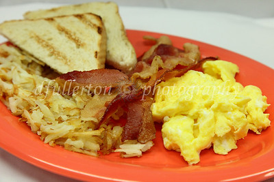 """Photo of West Beach Grille's """"West Beach Special"""" - one of the restaurant's signature breakfast dishes.  3-8-10 to 3-10-10"""