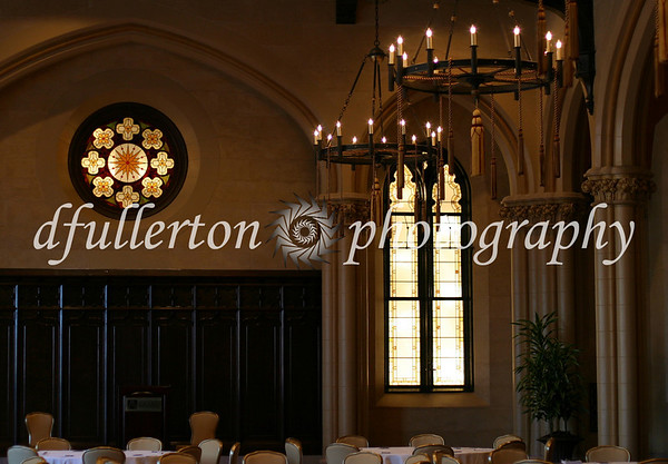 The beautiful room of Edinburgh Hall in Baltimore's Tremont Grand Hotel.  Photographed 8-8-08.