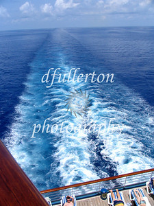 Caribbean waters as we traveled on a Carnival cruise to Mexico, 2005.
