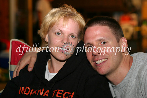 A friendly photo of Dennis and Stephanie, business mentors.  Taken during our 4th of July party, 2008.