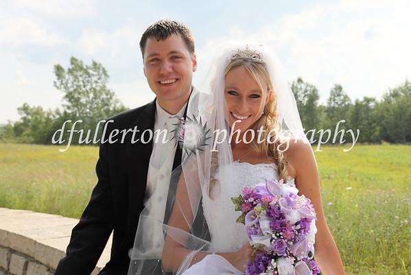 Congratulations David and Julie!  7-25-09