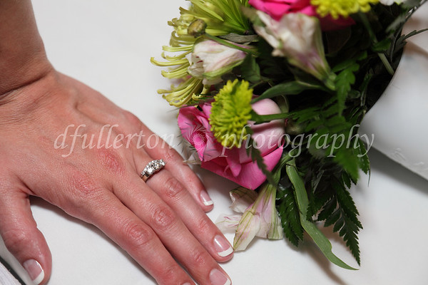 Katie took a moment to show off a beautiful ring for this photo.