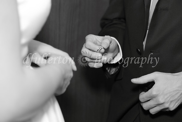 A nice slow exchange of rings allowed me to capture the moment well during the ceremony.