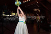 The time was made to throw the bouquet to several cheering ladies on 5-20-11.