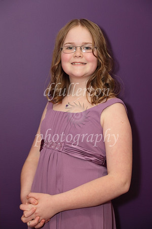 Sarah was one of two junior bridesmaids for Rebecca and Marc's wedding.  She also did a great job!