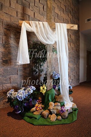This beautiful Cross in the lobby of Hill Creek's Church of God was welcoming for the wedding of Marc and Rebecca on 5-7-11.