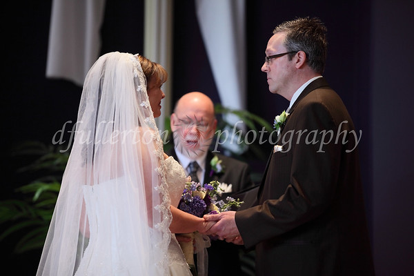 This ceremony was unique in that both Rebecca and Marc's fathers are Pastors.  Here, Rebecca's father also lead the ceremony.