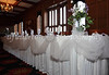 A nicely adorned head table was prepared for Scott and Beth on 3-25-11.