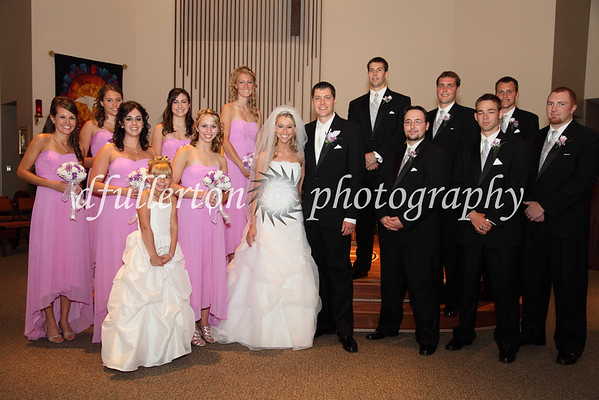 The classical bridal party photo :)