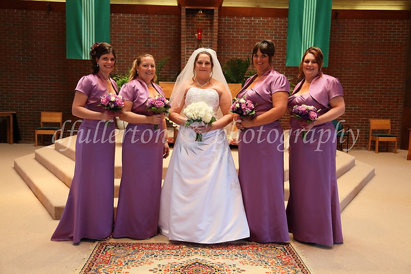 Michelle and her bridesmaids.