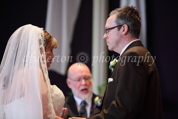 This was but one of many moments of reverence and focus upon each other during the ceremony.