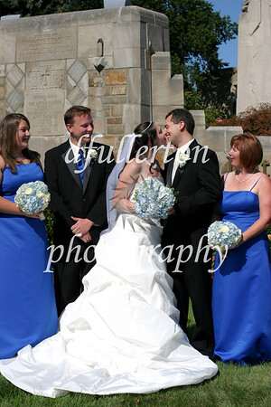 Various family members and assistants to Matt and Lorena during their wedding day, 9-6-08.