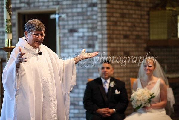 Father Richard L. officiated over the ceremony on 5-21-11.
