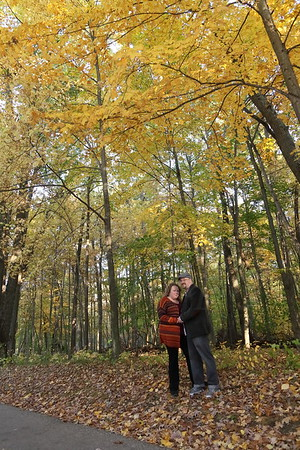 Rebecca and John Engagement Session at Kensington Metropark - 10-22-16