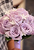 The color for this wedding was a beautiful light purple...
