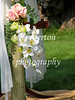Part of the detail of Rita and Ted's wedding decorations, 8-27-2005.