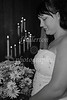 Another photo of Jenay at the altar...