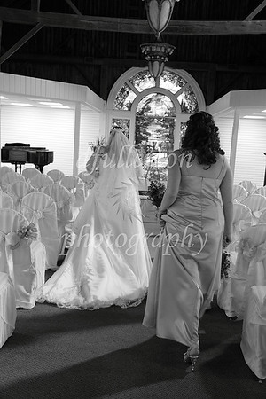 Approaching the altar for photos on 3-25-11.