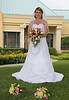 A traditional boquet photo of Katie in the beautiful hotel commons.  6-26-10