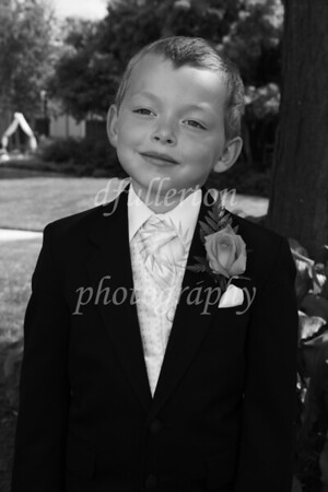 Swapping from flowers to rings, this ring bearer could not be left out of the celebration.