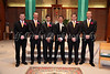 Anthony and his Groomsmen also posed for several photos after the wedding.