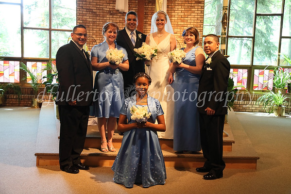 Here we had the main wedding party together on 5-21-11.
