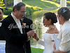 Rita and Ted exchanging vows on their wedding day! 8-27-2005