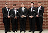 All the groomsmen took an early break for a few photos before the ceremony.