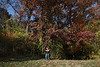 Jeff and Michelle amongst a beautiful fall display.  10-24-10