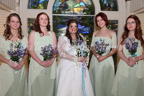 Beth and her bridesmaids on 3-25-11.